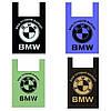 Пакет майка BMW 40 x 60 см / мішок 500 шт (10 уп x 50 шт) Пакет поліетиленовий майка, фото 2