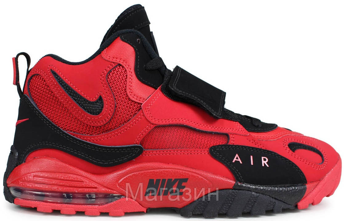Мужские кроссовки Nike Air Max Speed Turf Red Найк Аир Макс красные