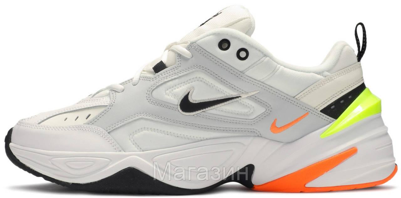 Мужские кроссовки Nike M2K Tekno Pure Platinum (Найк М2К Текно) белые