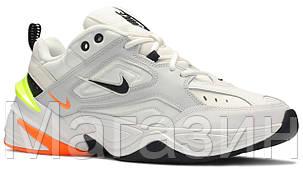 Мужские кроссовки Nike M2K Tekno Pure Platinum (Найк М2К Текно) белые, фото 2
