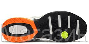 Мужские кроссовки Nike M2K Tekno Pure Platinum (Найк М2К Текно) белые, фото 3