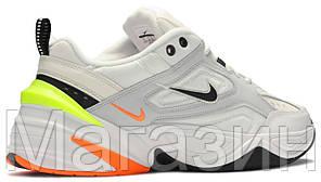Женские кроссовки Nike M2K Tekno Pure Platinum (Найк М2К Текно) белые, фото 2