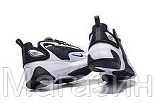 """Женские кроссовки Nike Zoom 2K """"White / Black"""" Найк Зум 2К белые с черным, фото 3"""