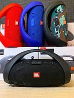 Блютуз колонка Бумбокс JBL BOOMBOX mini Bluetooth , USB , microSD , AUX , FM, фото 1