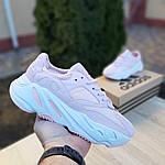 Жіночі кросівки Adidas Yeezy 700 V2 (блідо-рожеві), фото 5