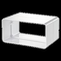 Соединитель плоских каналов 55*110 мм Вентс