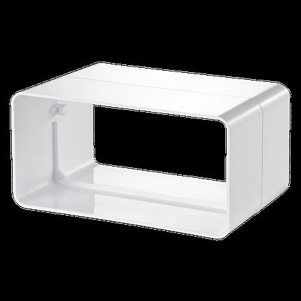 Соединитель плоских каналов 55*110 мм Вентс, фото 2