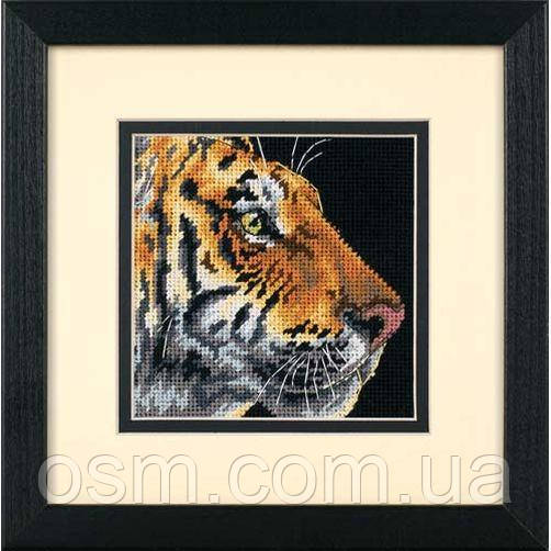 Набор для вышивки — гобелен «Профиль тигра» / «Tiger Profile» DIMENSIONS