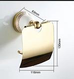 Тримач туалетного паперу 6-167(золото), фото 2