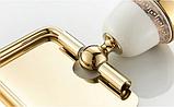 Тримач туалетного паперу 6-167(золото), фото 5