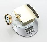 Тримач туалетного паперу 6-167(золото), фото 6