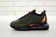 Мужские кроссовки Nike Air Max 720 темно-зеленые