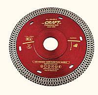 Диск Craft алмазний гарячого пресування із ромбоподібним різцем та фланцем і 125*F22.2*1.2/1,4*10мм