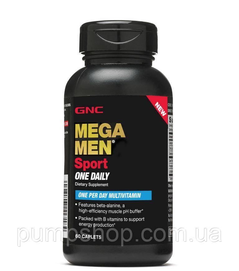 Витамины для мужчин GNC Mega Men Sport One Daily 60 капс.