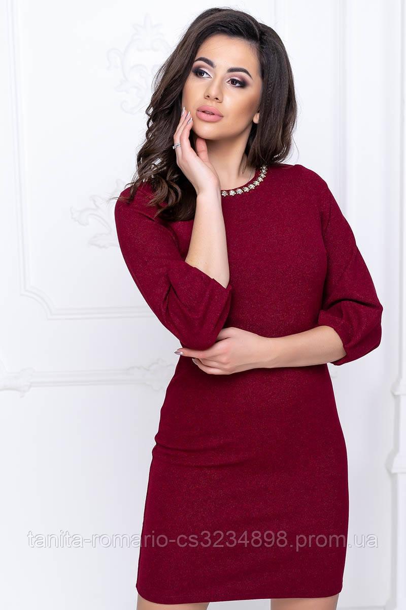 Повсякденна сукня рукавчик ліхтарик гірчичного кольору