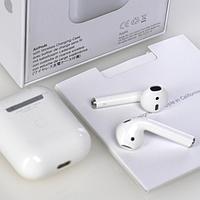 Наушники Apple AirPods 2 WirelessCharging Bleutooth Гарнитура Безпровідні навушники