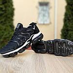 Мужские кроссовки Nike Air VaporMax (черно-белые), фото 6