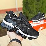 Мужские кроссовки Nike Air VaporMax (черно-белые), фото 5