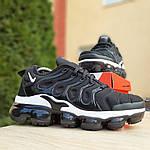 Мужские кроссовки Nike Air VaporMax (черно-белые), фото 7