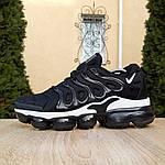 Мужские кроссовки Nike Air VaporMax (черно-белые), фото 9