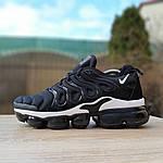 Мужские кроссовки Nike Air VaporMax (черно-белые), фото 8