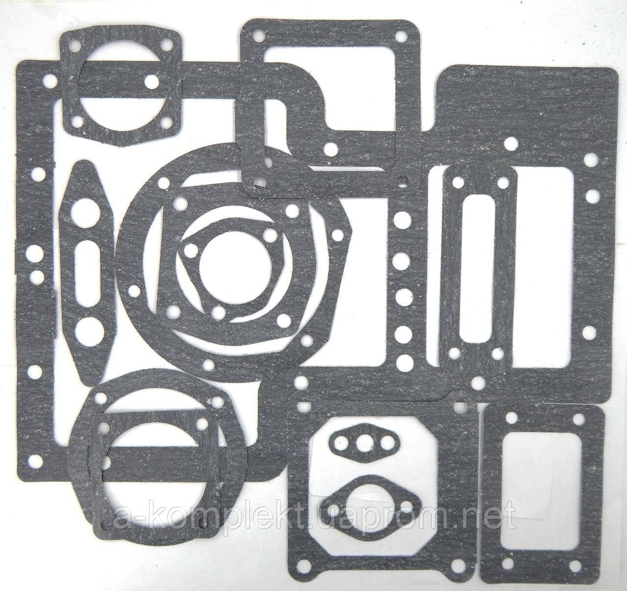 Набор прокладок КПП Т-16 из паронита (арт.1950п)