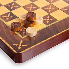 Шахматы, шашки, нарды 3 в 1 (29 x 29см) 5566C, фото 3