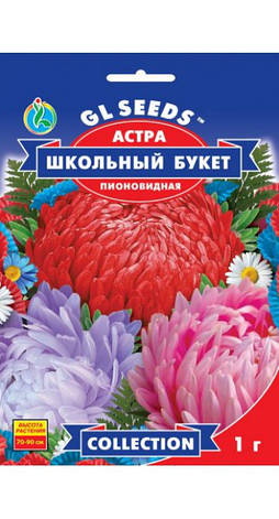 Семена Астра Школьный букет, фото 2