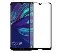 Защитное стекло 5D Huawei Y6 2019 / Y6 pro 2019 (Black), фото 1