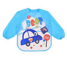 Слюнявчик с рукавами для творчества Beep,Beep! (02239)