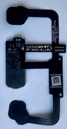 Шлейф для Huawei Mate 9 Pro, для сканера відбитка пальця, Білий, фото 2