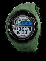 Skmei 1470 зеленые мужские спортивные часы, фото 1
