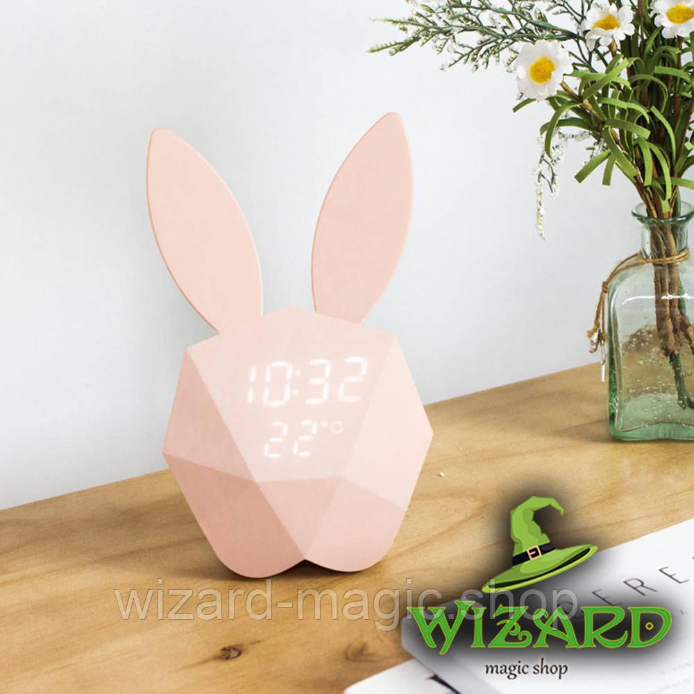 Светильник Кролик часы