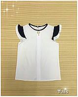 """Нарядная блузка """"Крыло""""  для девочки код 0143"""