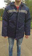 Фуфайка рабочая зимняя на синтепоне. куртка спецовая., фото 1