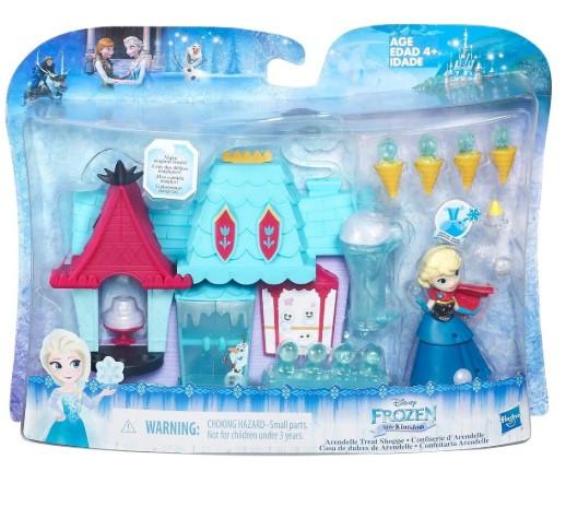Игровой набор  Hasbro Disney Frozen 7.5 см-Маленькие куклы Холодное сердце Эльза и магазин сладостей B5195