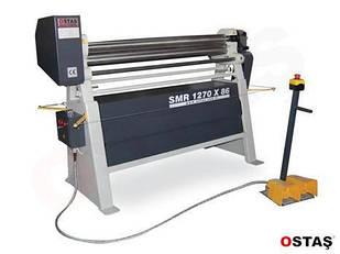 Трехвалковый листозгинальний верстат електромеханічний SMR 1550x86 OSTAS