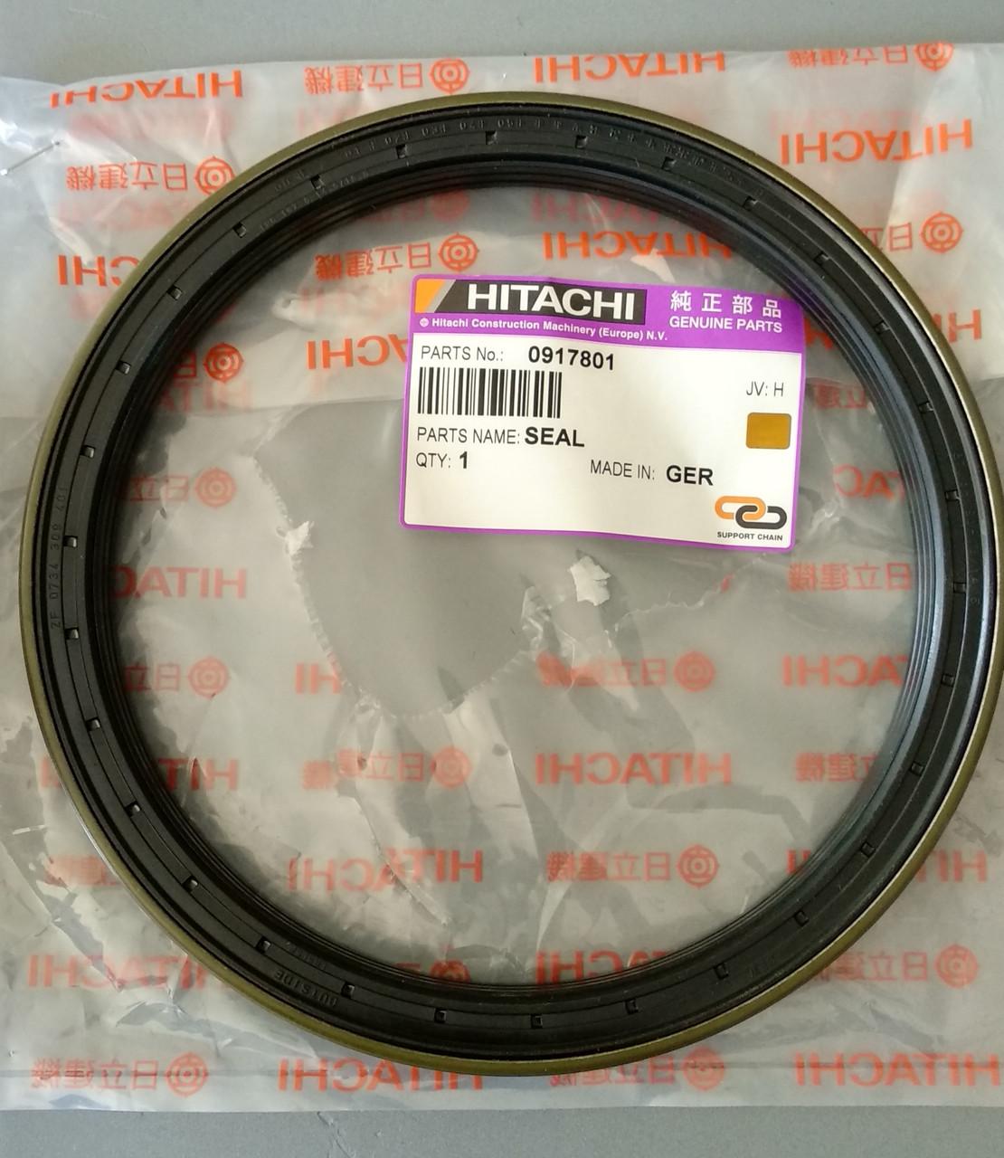 0917801 Сальник ступицы переднего моста экскаватора Hitachi (seal oil)