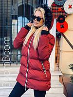 Зимняя куртка женская удлиненная (Норма)