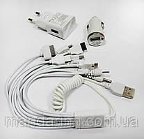 Универсальное зарядное устройство 10 в 1 для мобильных телефонов, планшетов, смартфонов, MSP100