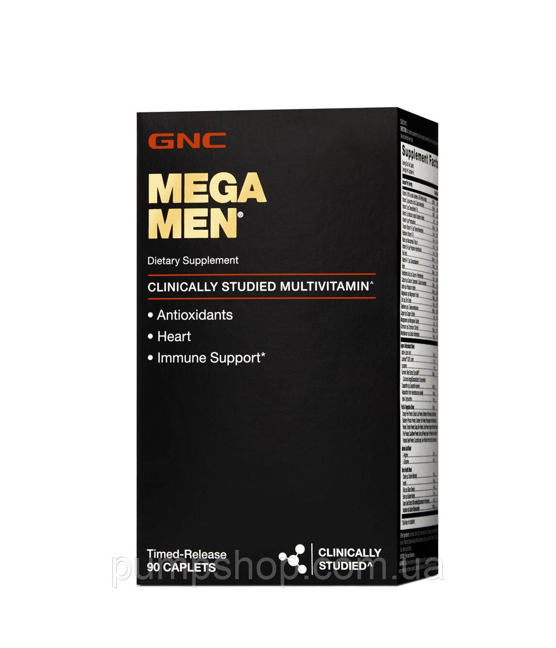 Витамины для мужчин GNC Mega Men® 90 капс.
