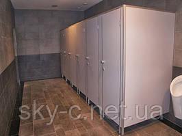 Туалетные перегородки из ДСП 18мм
