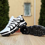 Мужские кроссовки Nike Air VaporMax (бело-черные), фото 3