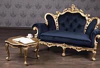 Журнальный столик в стиле Барокко, столик Барокко из дерева, резной столик с тиле Барокко