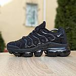 Мужские кроссовки Nike Air VaporMax (черные), фото 3