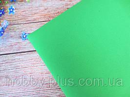 Фоамиран 1 мм, 50х50 см, цвет светло-зеленый