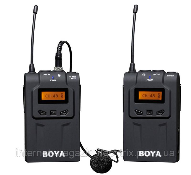 Беспроводная микрофонная система Boya BY-WM6
