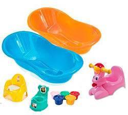 Ванночки, горшки, матрасик для купания