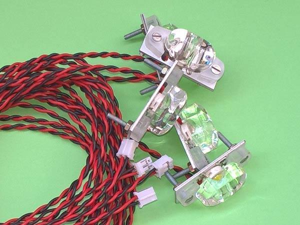 Крыльевые огни и маяки для модуля  LMA7-1BC  (БАНО)