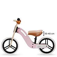 Беговел Kinderkraft Uniq Pink  Суперлегкий., фото 2